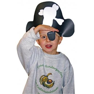 Bastelset Piratenhüte