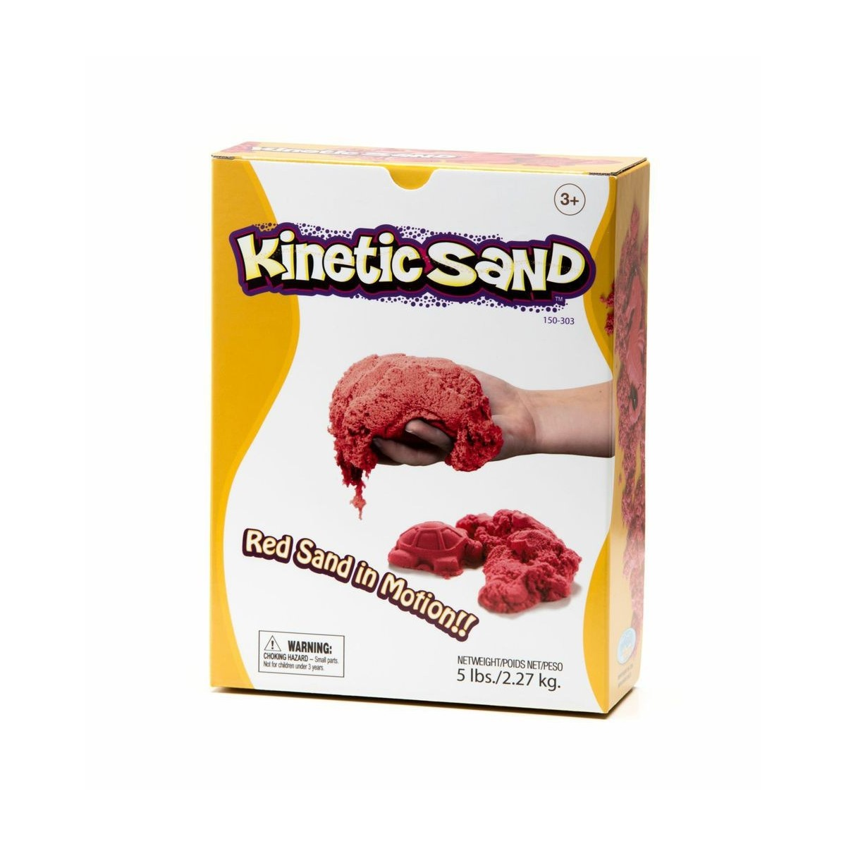 Kinetic Sand - Rot -  2,27 kg -Box