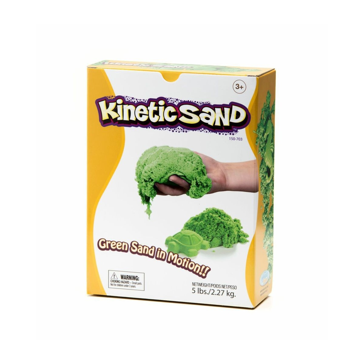 Kinetic Sand - Grün - 2,27 kg -Box