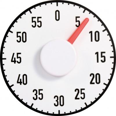 Zeitzeiger Ø19cm -  magnetisch & ultraflach