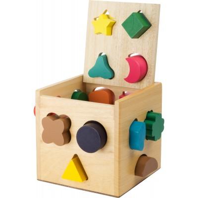 Holzspielzeug Logisteck Steck Spiel Holz Förderung logisches Denken Feinmotorik Holz Kinder