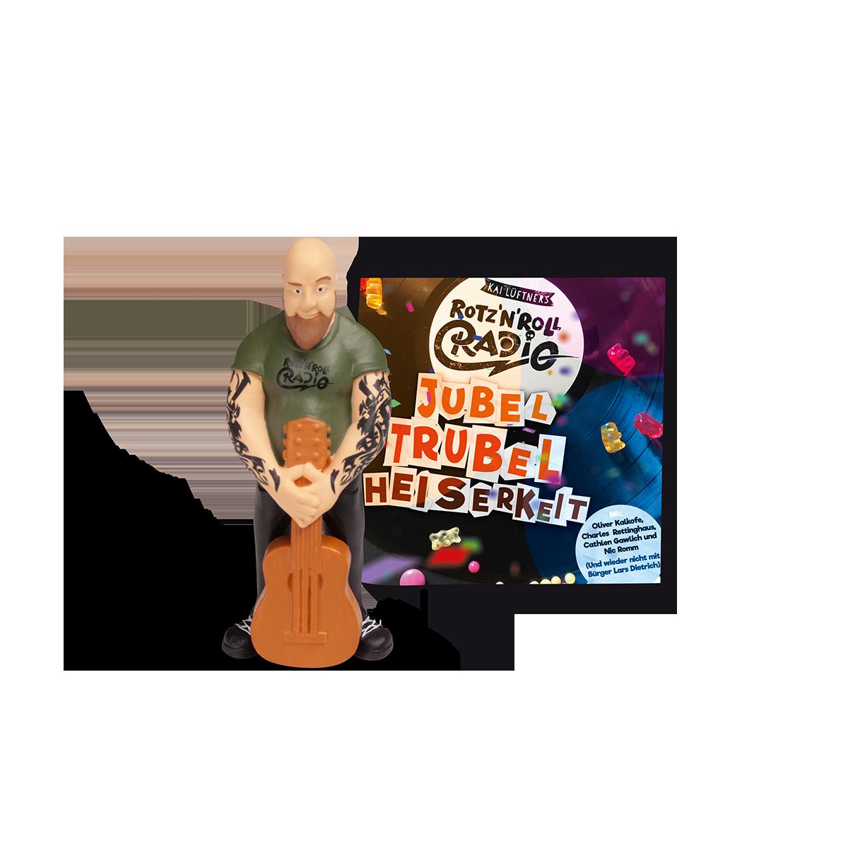 Tonie- Musik-Hörfigur.Rotz 'N' Roll Radio -  Titel:Jubel, Trubel, Heiserkeit