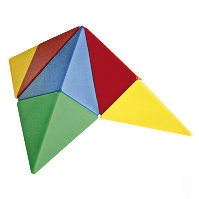 Magnetwürfel Triangle Puzzle Varianten