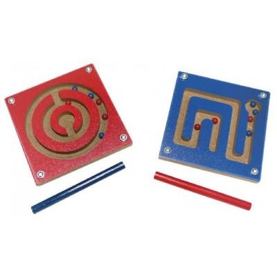 Magnetreisespiel